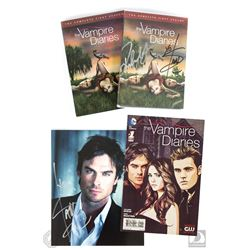 The Vampire Diaries Signed DVD, Signed Photo & DC Comics #1 Comic Book