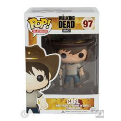 The Walking Dead Carl Funko Pop! Figure Signed by Chandler Riggs