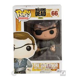 The Walking Dead Governor Funko Pop! Figure Signed by David Morrissey
