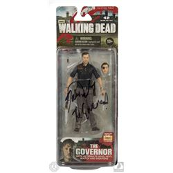 The Walking Dead The Governor Action Figure Signed by David Morrissey