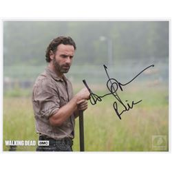 The Walking Dead Rick Photo Signed by Andrew Lincoln