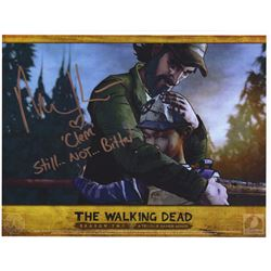 The Walking Dead Telltale Games Clementine Photo Signed by Melissa Hutchinson