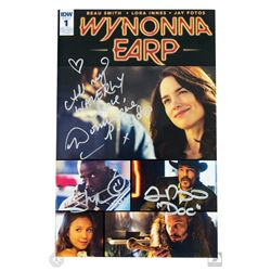 Wynonna Earp #Earper T-Shirt & SDCC 2016 Exclusive Comic Book Signed by 3 Cast Members