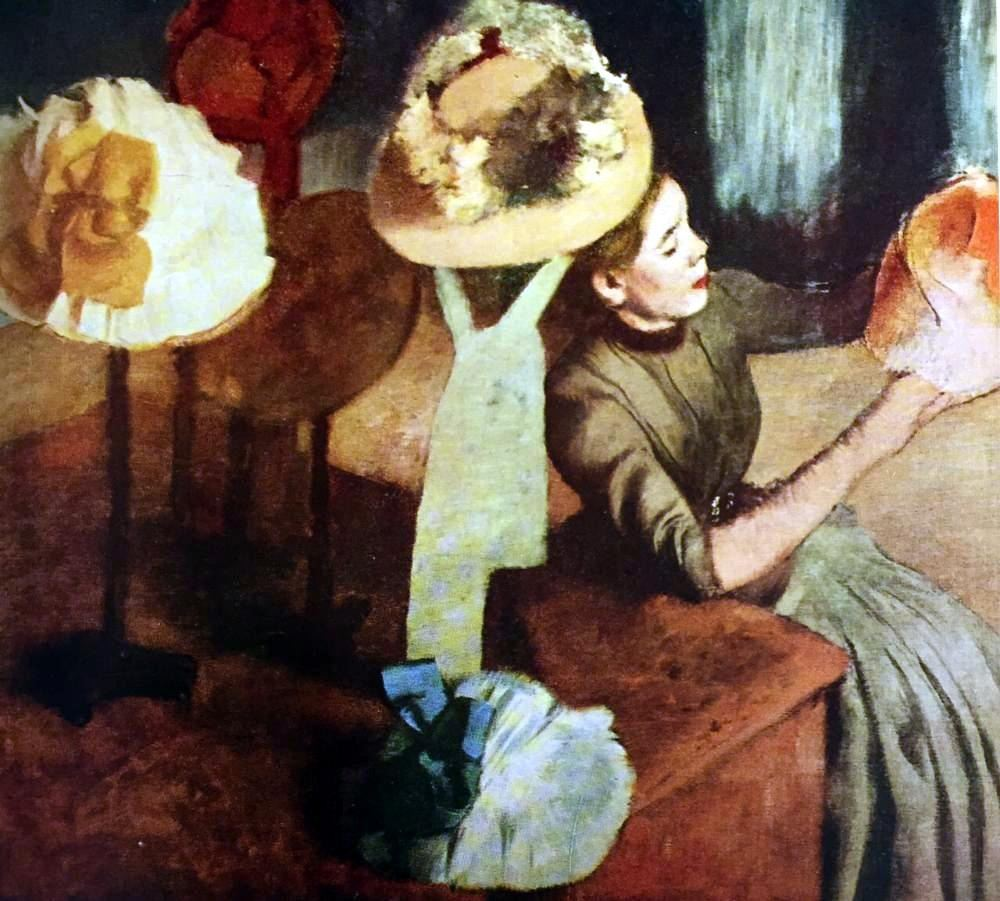 Edgar Degas French Impressionism Oil Painting Dance