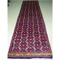 HAND KNOTTED HOSSAINABAD RUNNER