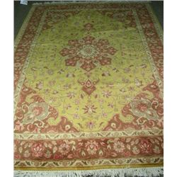 HAND KNOTTED TABRIZ AREA RUG