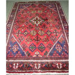 HAND KNOTTED HERIZ AREA RUG