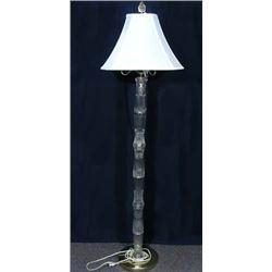 VINTAGE CUT CRYSTAL FLOOR LAMP