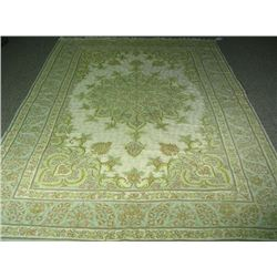 HAND KNOTTED AREA RUG FROM INDIA