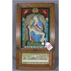 VINTAGE RELIGOUS PRAYER BOX