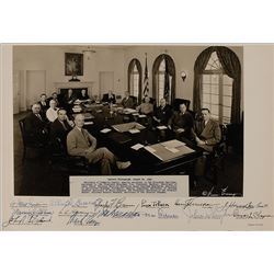 Harry S. Truman and Cabinet