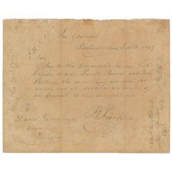 Joseph Cosey: Benjamin Franklin