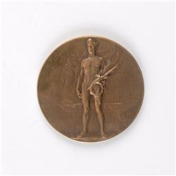 Antwerp 1920 Summer Olympics Bronze Winner's Medal