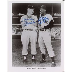 Mickey Mantle and Willie Mays