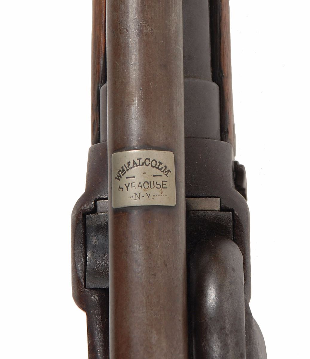 Sharps New Model 1859 Military Rifle with Malcolm Scope in
