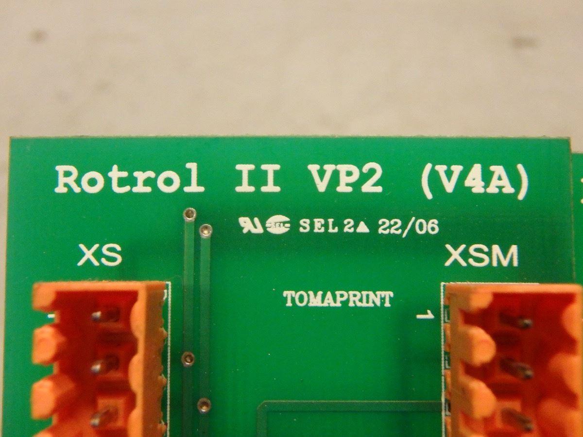 (3) CLOOS 033 59 32 40 ROTROL II VP2