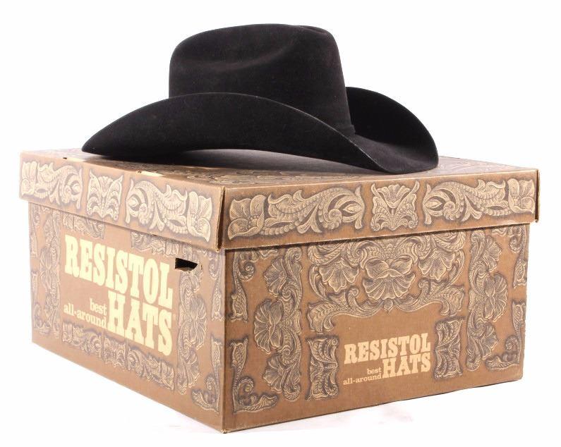30231dafe Resistol Cowboy Hat Black Gold 77 4