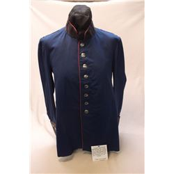 Original Coat Owned by Buffalo Bill and Worn in the Wild West Show by a Member of His Cowboy Band.