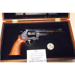 Smith and Wesson 125th Anniversary Commemorative 1852-1977 Revolver- 25-3 Model- .45- NIB- Book- S+W