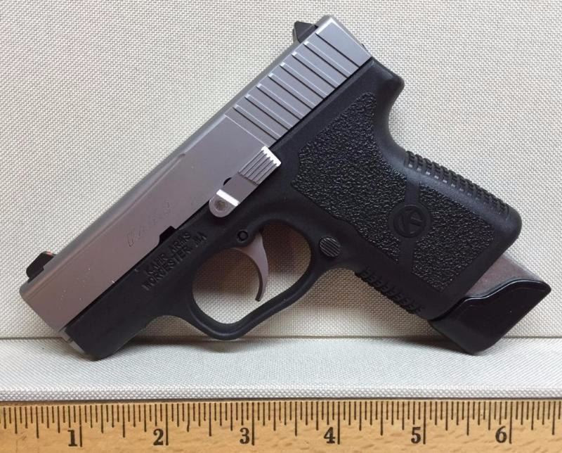 KAHR PM9 STAINLESS STEEL SLIDE AND POLY 9MM