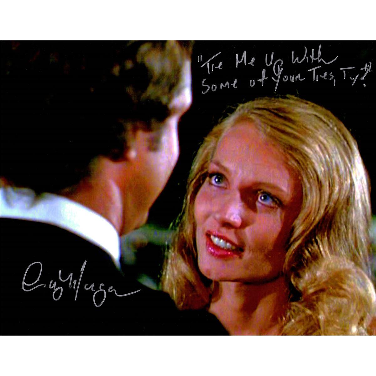 Cindy Morgan Signed Caddyshack 11X14 Photo W/Tie Me Up ...