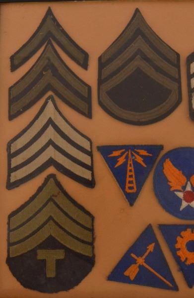 U S  Army Air Corps WWII Patches