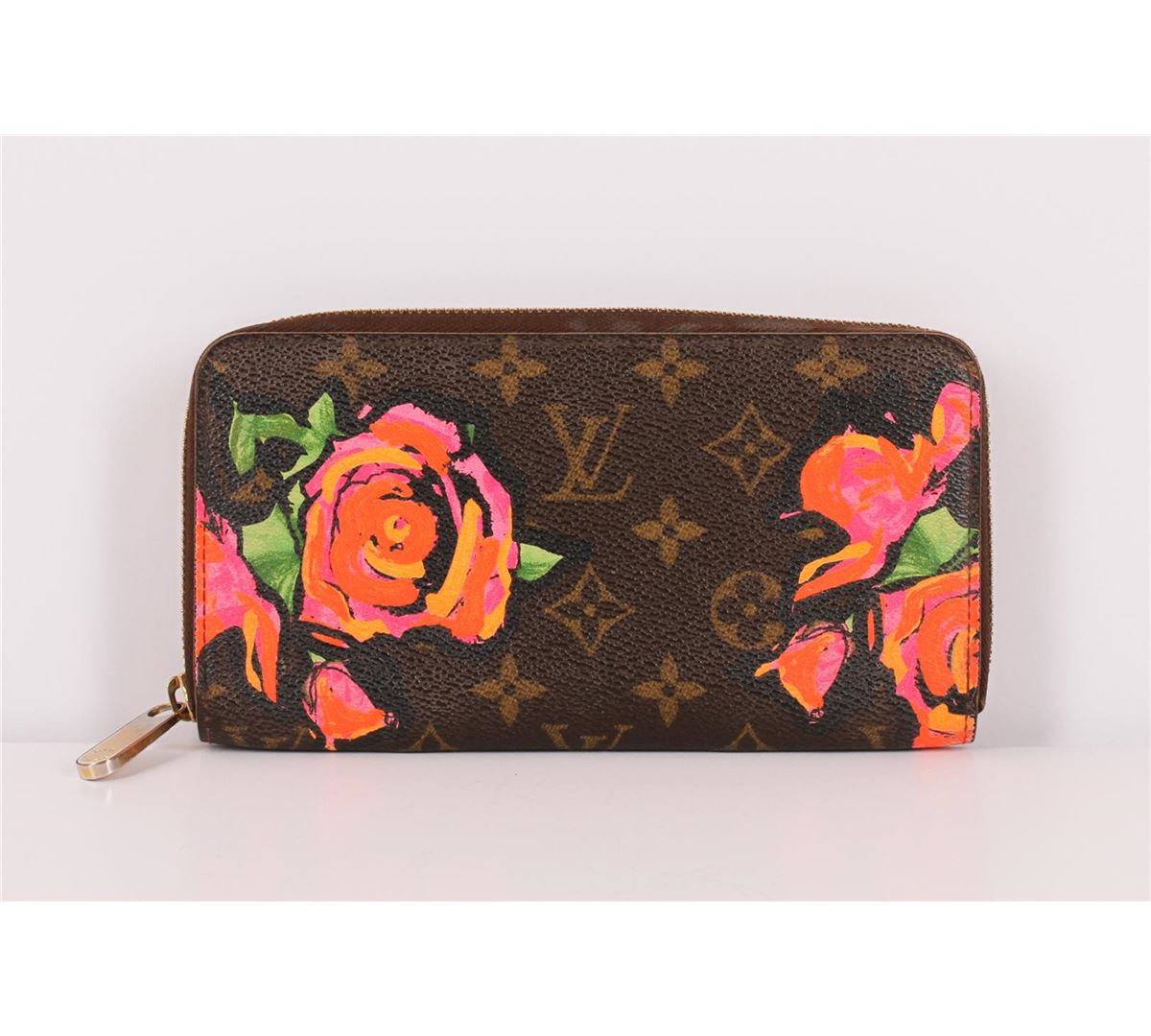 6600d3823596 ... Image 2   Authentic Louis Vuitton Limited Edition Roses Stephen Sprouse  Zippy Wallet ...