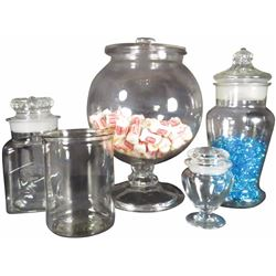 Collection of Country Store Display Jars