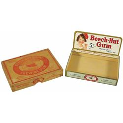 Beech-Nut Brand Chewing Gum 2 pc. Display Box