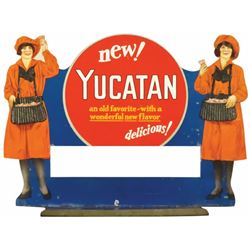 Yucatan Gum Die Cut Tin Store Display