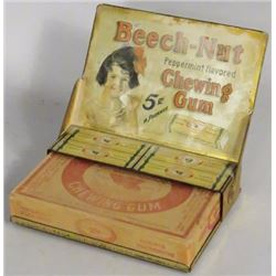 Beech-Nut Chewing Gum Tin Litho Store Display