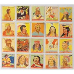 Collection of 20  Indian Chewing Gum Trade Cards