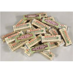 24 Wrigley Faux Gum Packs for Display
