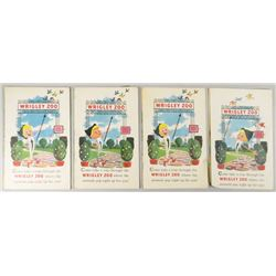 Wrigley Zoo Children's Pop-Up Pamphlets