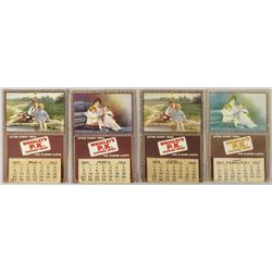 1923 Wrigley's PK Chewing Sweet Calendars