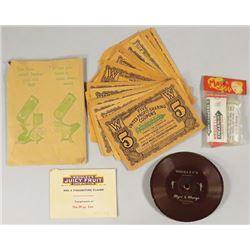 Collection of Wrigley Chewing Gum Ephemra