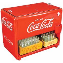 Coca Cola Salesman Sample Cooler