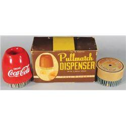 Coca Cola Pull Match Dispenser