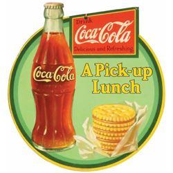 1932 Coca Cola Die Cut Cardboard String Hanger