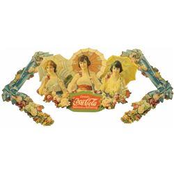1918 Coca Cola Festoon, Umbrella Girls