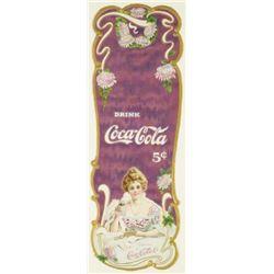 1903 Coca Cola Die Cut  Book Mark