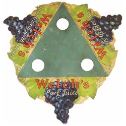 Welch's Pure Juice Die Cut Cardboard Bottle Holder