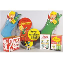 Collection of Squirt Items
