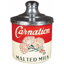 Carnation Malted Milk Aluminum Container