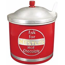 Nestle's Hot Chocolate Aluminum Container