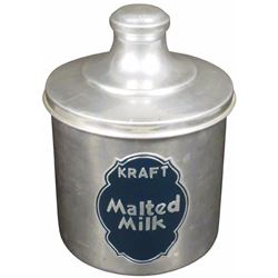 Kraft Malted Milk Aluminum Container