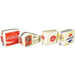 A Great Collection of 4 Soda Light Up Signs