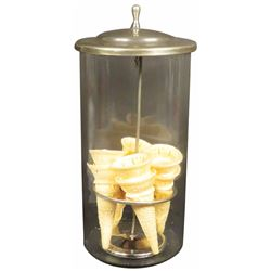 Soda Fountain Ice Cream Cone Dispenser