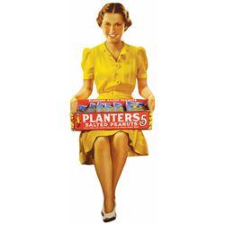 Planters Peanuts Cardboard Store Display