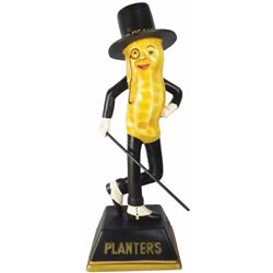 Extremely Rare Mr. Peanut Light Up Store Display